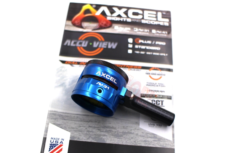 Axcel Scope AccuView AV31 Plus 复合弓 镜头