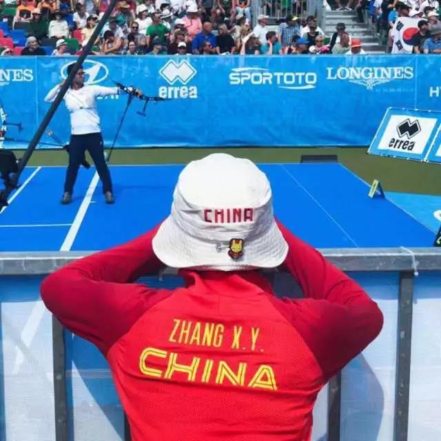 射箭亚运会中国冠军张心妍